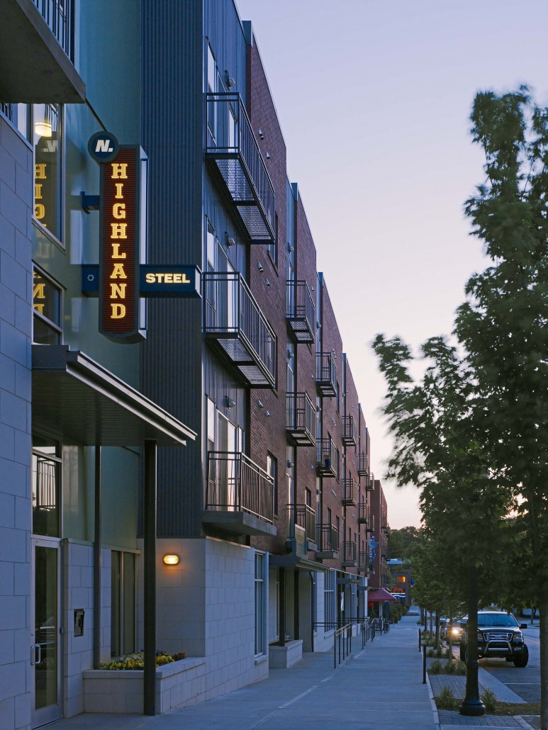 Luxury Apartments For Rent In Atlanta | N. Highland Steel Apartments